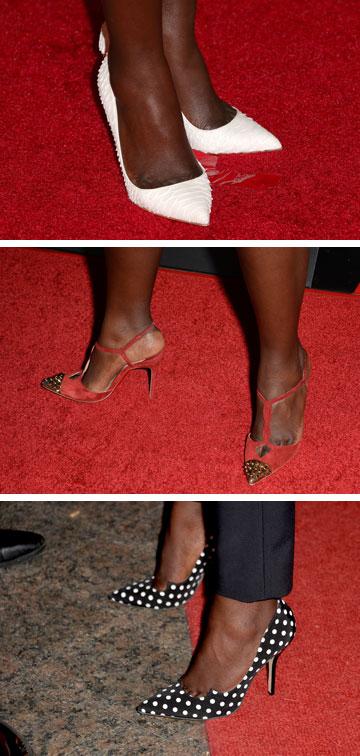 נעלי שפיץ לכל שטיח אדום (צילום: gettyimages)