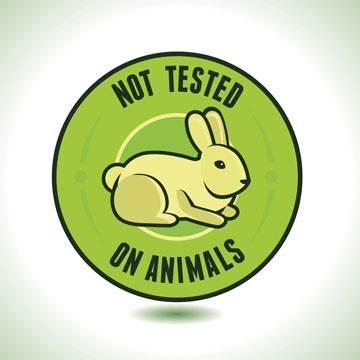 שימוש במוצרים שלא נוסו על בעלי חיים (צילום: shutterstock)