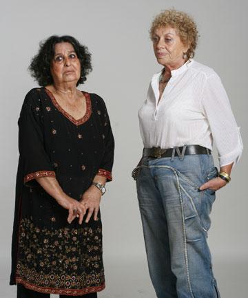 שולמית אלוני וגאולה כהן - תמיד התבלבלו ביניהן (צילום: אביגל עוזי)