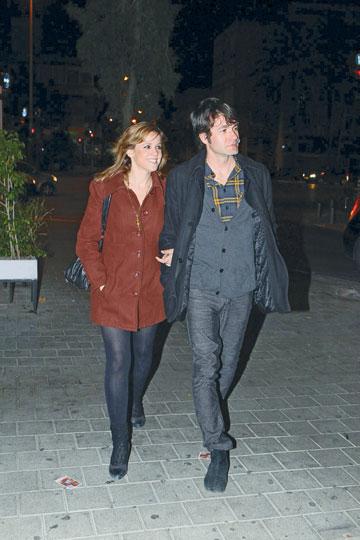 לא עפים על גארי יורופסקי.עם  אשתו פאולה (צילום: ניר פקין)