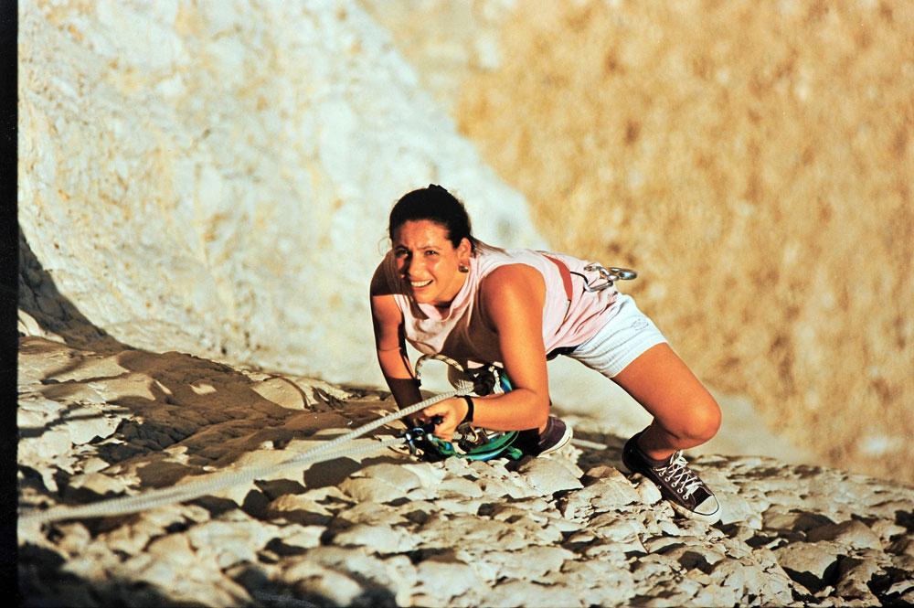 במפלי הקומראן, ים המלח (צילום: יוסי אלוני)
