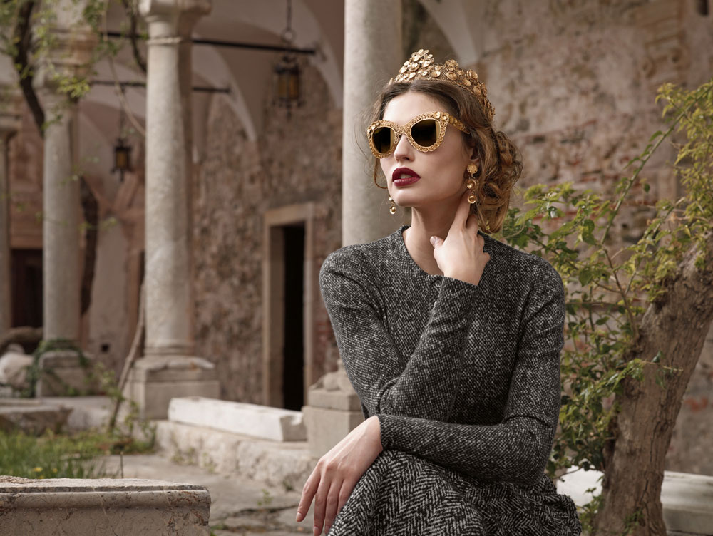 למצב רוח רומנטי. משקפיים של דולצ'ה וגבאנה (צילום: דומיניקו דולצ'ה)