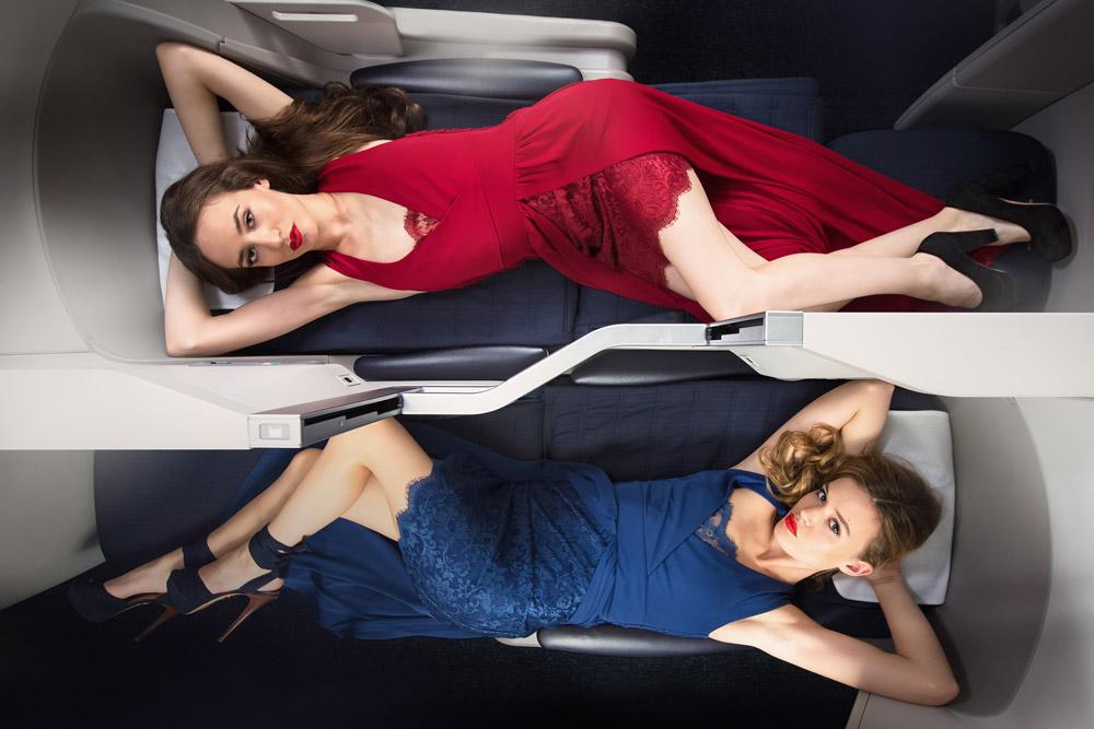 אליזבת (ליזי) וג'ורג'יה מיי ג'אגר. האצולה של ברנז'ת האופנה (צילום: gettyimage)