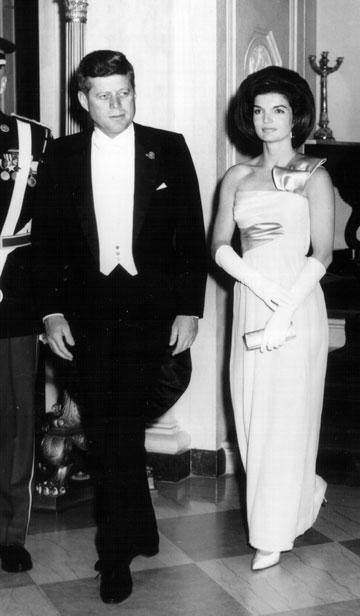 האם עמדה בדרישה של סקס כל יום? ג'קלין וג'ון קנדי (צילום: gettyimages)