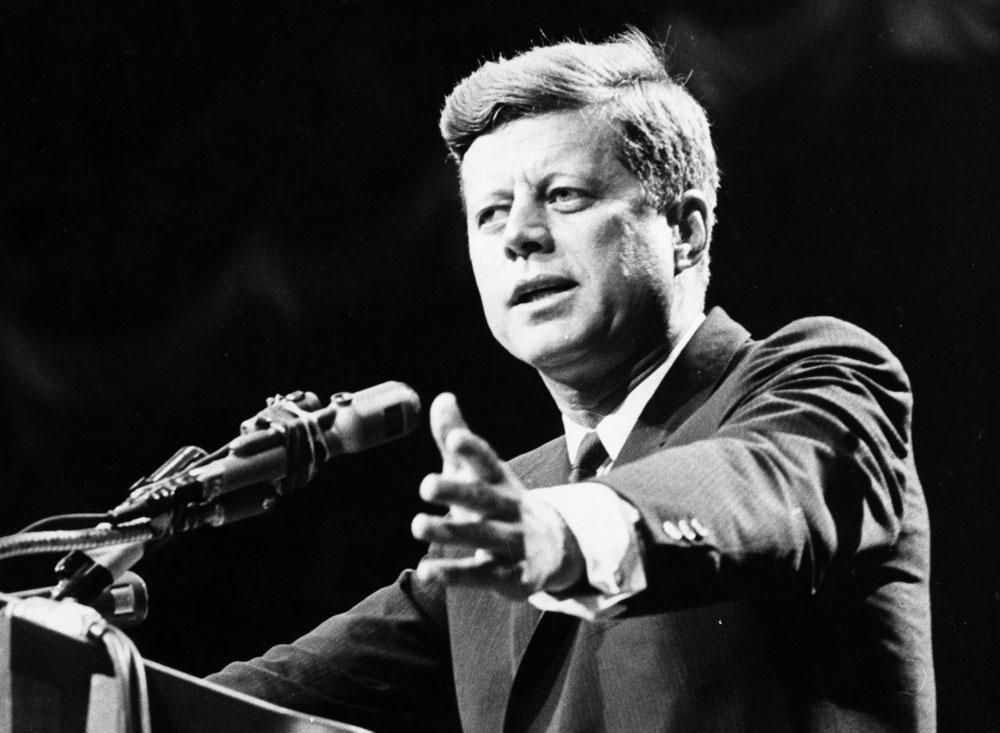 נשיא נערץ אבל לא חף משערוריות. ג'ון קנדי (צילום: gettyimages)