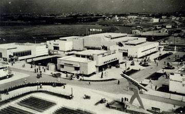 ''יריד המזרח'', גלגולו הראשון של מרכז הירידים, הוא היום מתחם הבילוי נמל תל אביב