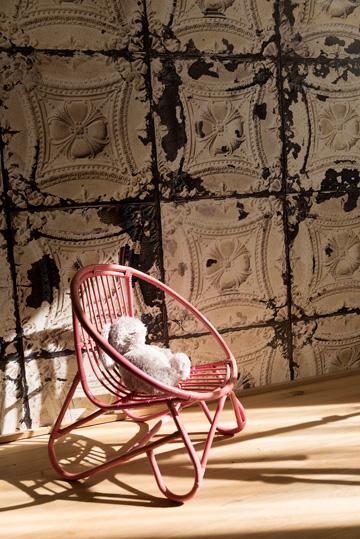 פינה בחדרה של הבת (צילום: גדעון לוין)