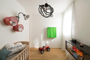 חדרו של התינוק (צילום: גדעון לוין)