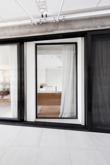 כך הוא נראה מהמרפסת שצמודה ליחידת ההורים (צילום: גדעון לוין)