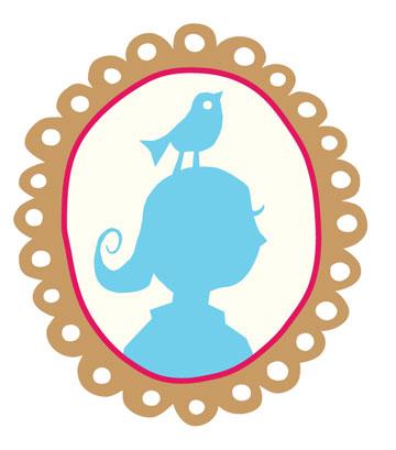 """דמותה של הילדה פיפ, שמככבת כלוגו המותג. """"היא האלטר-אגו שלי"""", אומרת המעצבת (צילום: סטודיו פיפ)"""