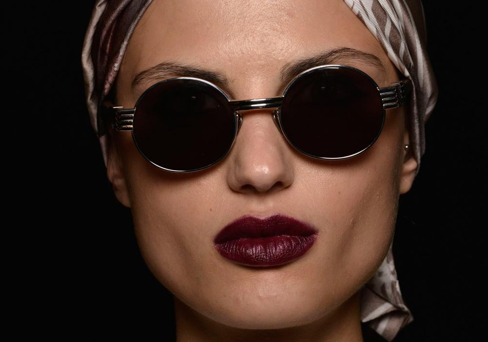 מחמיא לגוני עור רבים. מראה האיפור של מייבלין, שבוע האופנה בניו יורק (צילום: gettyimages)