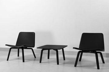 שיתוף פעולה מרענן עם הדור הצעיר. כיסא בעיצוב הארי קוסקינן ( photo:Artek, Tuomas Uusheimo)