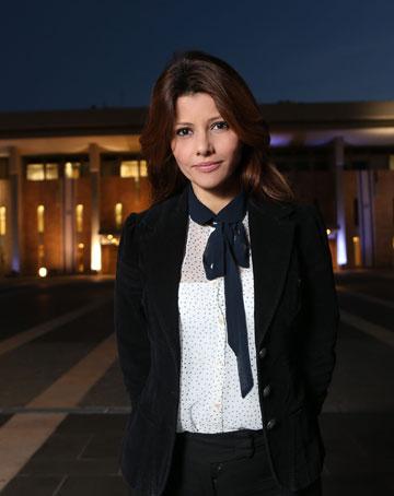 אורלי לוי-אבקסיס. זכתה באות הפרלמנטר המצטיין מטעם המכון הישראלי לדמוקרטיה (צילום: אלכס קולומויסקי)