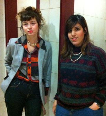 רעות מרים כהן (מימין) ונטע שמעוני. ''הכול הולך, התנאי היחיד הוא שהפריטים יהיו חדשים''