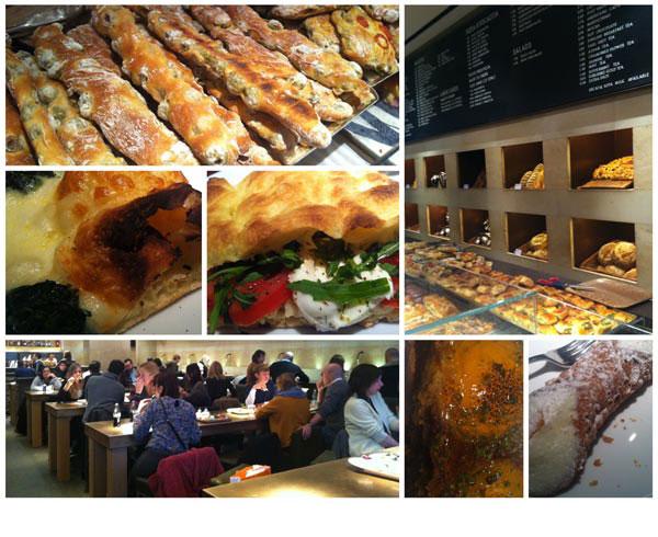 הגרסה המודרנית של חדר האוכל הקיבוצי. מסעדת פרינצ'י (צילום: עודד מזרחי)