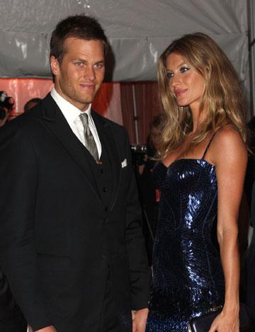 הזוג הכי עשיר בעולם. ג'יזל בונדשן וטום בריידי (צילום: gettyimages)