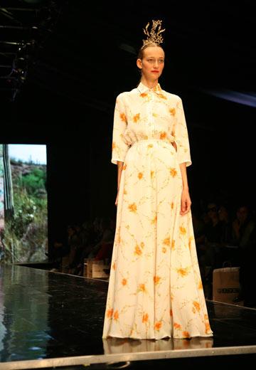 תצוגת האופנה של דורין פרנקפורט בשבוע האופנה הקודם בתל אביב. תשתתף בגינדי תל אביב Fashion Week (צילום: טל ניסים)