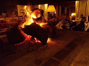 חם ונעים. מלון הסקי במיקרו חוריו (צילום: מורן זלמה)