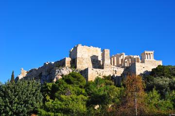 גבעת האקרופוליס. אתונה (צילום: אופיר עדני)