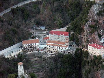 אתר עלייה לרגל. מנזר פרוסוס (צילום: מורן זלמה)