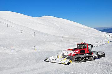 מומלץ לגולשים מתחילים. אתר הסקי בפסגת הולוכי (צילום: אופיר עדני)
