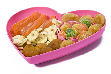הממתקים של הטבע. פירות מיובשים (צילום: shutterstock)