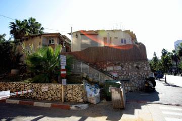 בתים במתחם סומייל, היום (צילום: מיכאל קרמר)