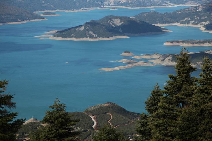 והנה עוד זווית של האגם (צילום: יזהר גמליאלי)