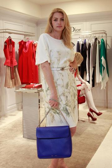 השמלה הפרחונית באניגמה. אנחנו אהבנו, ברקו פחות (צילום: טל ניסים)