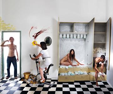 תערוכות אמנות ואופנה באמריקן אפרל (צילום: נור כהן)