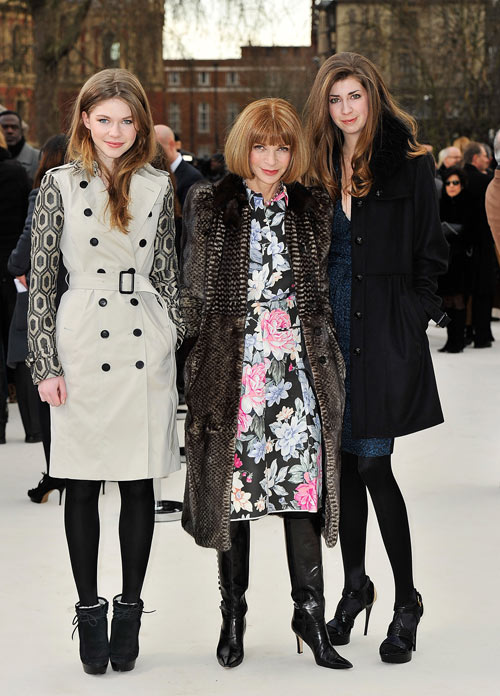 ואותה תלבושת שוב, בשבוע אופנה בלונדון (צילום: gettyimages)