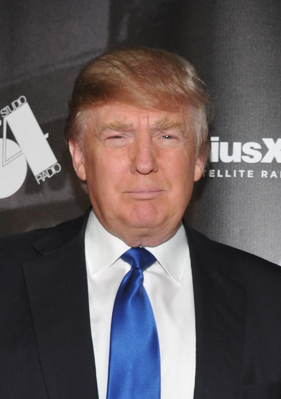 מה שיפה בו זה הכסף שלו. טראמפ (צילום: gettyimages)