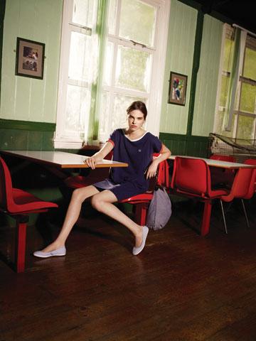 בגדי הנשים של פרד פרי לקיץ 2012 (צילום: ג'ורג' בורדוויק)