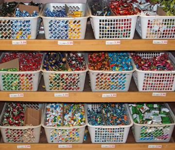 קנו ממתקים אצל סיטונאים - זה יחסוך לכם המון (צילום: עילית אזולאי)