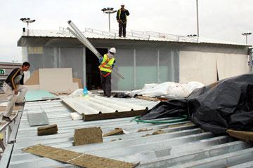 בונים ב''חוצות המפרץ''. ייפתח לציבור בפסח (צילום: הרצי שפירא)