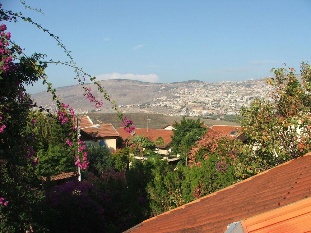 קשה שלא להתפעם מהנוף הפסטורלי, מהבתים עם גגות הרעפים האדומים (שאפילו הערבים בכפרים השכנים העתיקו) ומהמרקם הנעים של ''המערבית'' (צילום: עילם טייכר  )