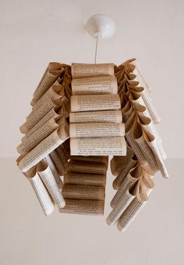 אהיל מדפי נייר (צילום: דורון עובד)