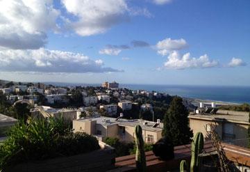 הנוף מהמרפסת (צילום: דורון פדות)