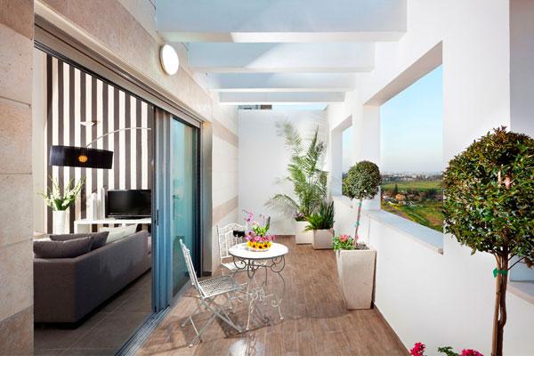 הדמיה של דירה בפרויקט ''חלומות תלמי מנשה'' (באדיבות שיכון ובינוי נדלן )