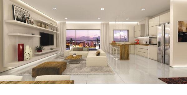 כך מוכרים דירה בפרויקט חדש בישראל: ''אי'' במטבח, מכשירי חשמל גדולים, ספת ר' והרבה שמנת (הדמיה: באדיבות ויו פוינט)