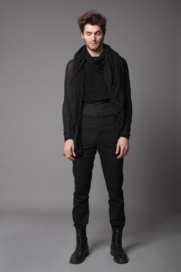 שמעון צרפתי. קולקציה שנייה למעצב בגדי הגברים  (צילום: דודי חסון)
