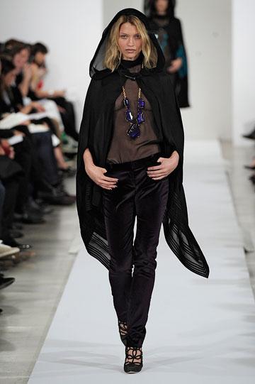 תצוגת האופנה של אוסקר דה לה רנטה בניו יורק (צילום: gettyimages)