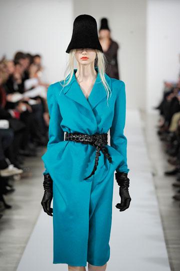 תצוגת האופנה של אוסקר דה לה רנטה. הקולקציה ציינה 50 שנות פעילות של דה לה רנטה בניו יורק (צילום: gettyimages)