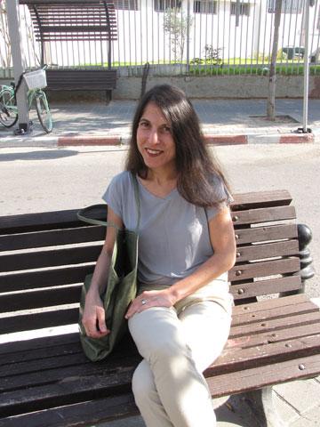 ענת שטרן. עובדת אצל חדיד מאז העשור שעבר (צילום: נעמה ריבה)