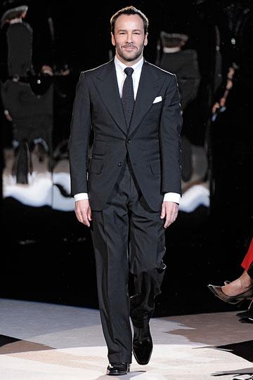 חזר למסלול. מעצב האופנה טום פורד (צילום: gettyimages)