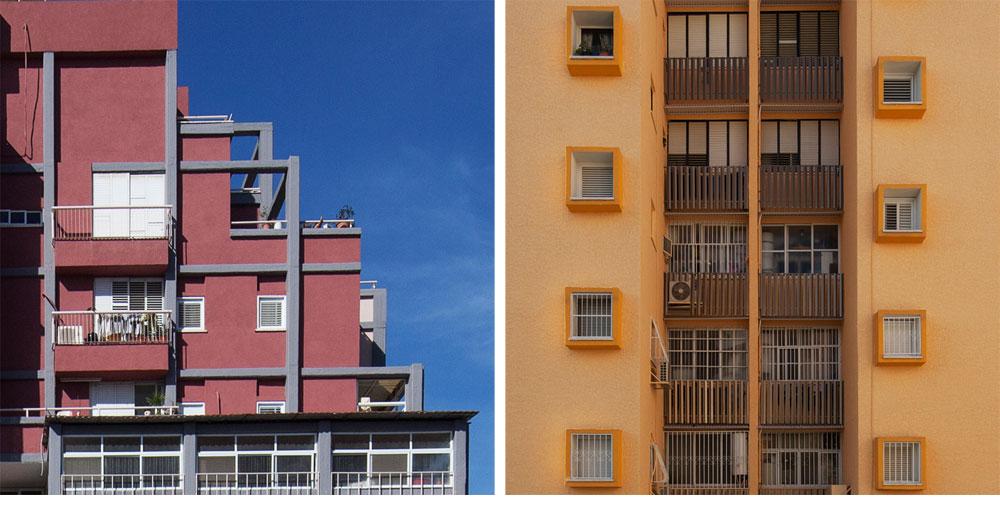 היועץ האדריכלי של הפרויקט מחבב את עבודתו עד כדי כך, שהוא מצמיד כינויים משונים לבניינים: מימין ''בן פנינה ורב שיח'', ומשמאל ''בית היקב'' (צילום: אביעד בר נס)