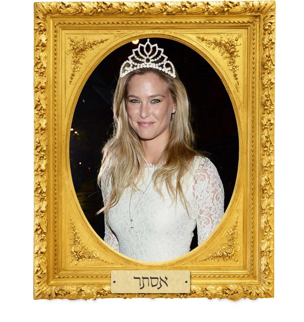 המלכה בר רפאלי. מי אם לא היא תציל את היהודים מהגזירות של הגויים הרשעים