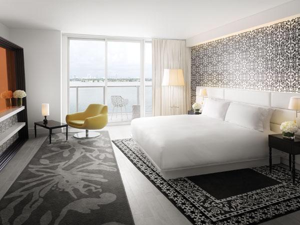 חדר לדוגמה (צילום: Morgans Hotel Group)