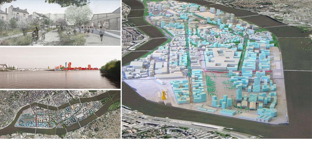 """מפת האי, שהפך לדברי דפאוט """"למקום מבוקש של מגורים ומסחר''. יש בית ספר לאדריכלות, ובעוד 3 שנים ייחנך גם בית ספר לאמנויות (באדיבות uapS  Anne Mie Depuydt)"""
