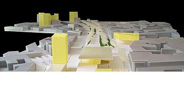 תכנון סביב תחנת הרכבת Roeselare (באדיבות uapS  Anne Mie Depuydt)